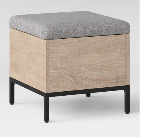 Storage Cube Stool Ottoman For Extra Seating When Needed Cube Storage Square Storage Ottoman Square Ottoman