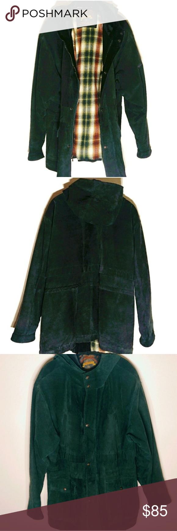 Vintage Adventure Bound 100 Leather coat Large