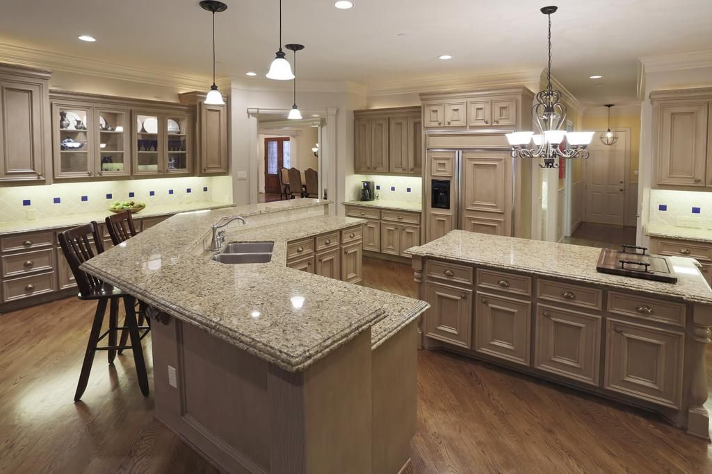 Chefu0027s Kitchen. Double Ogee Edge Granite Countertops. Breakfast Bar.  Http:// Part 66