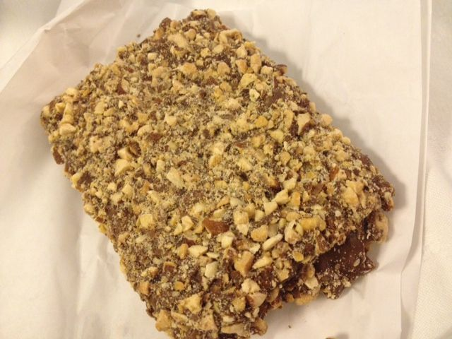 Desserts of the world   oh and who could forget the handmade english toffee yum