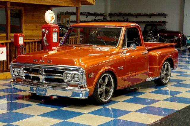 1969 Gmc Stepside Pickup 402ci Classic Trucks Classic Cars