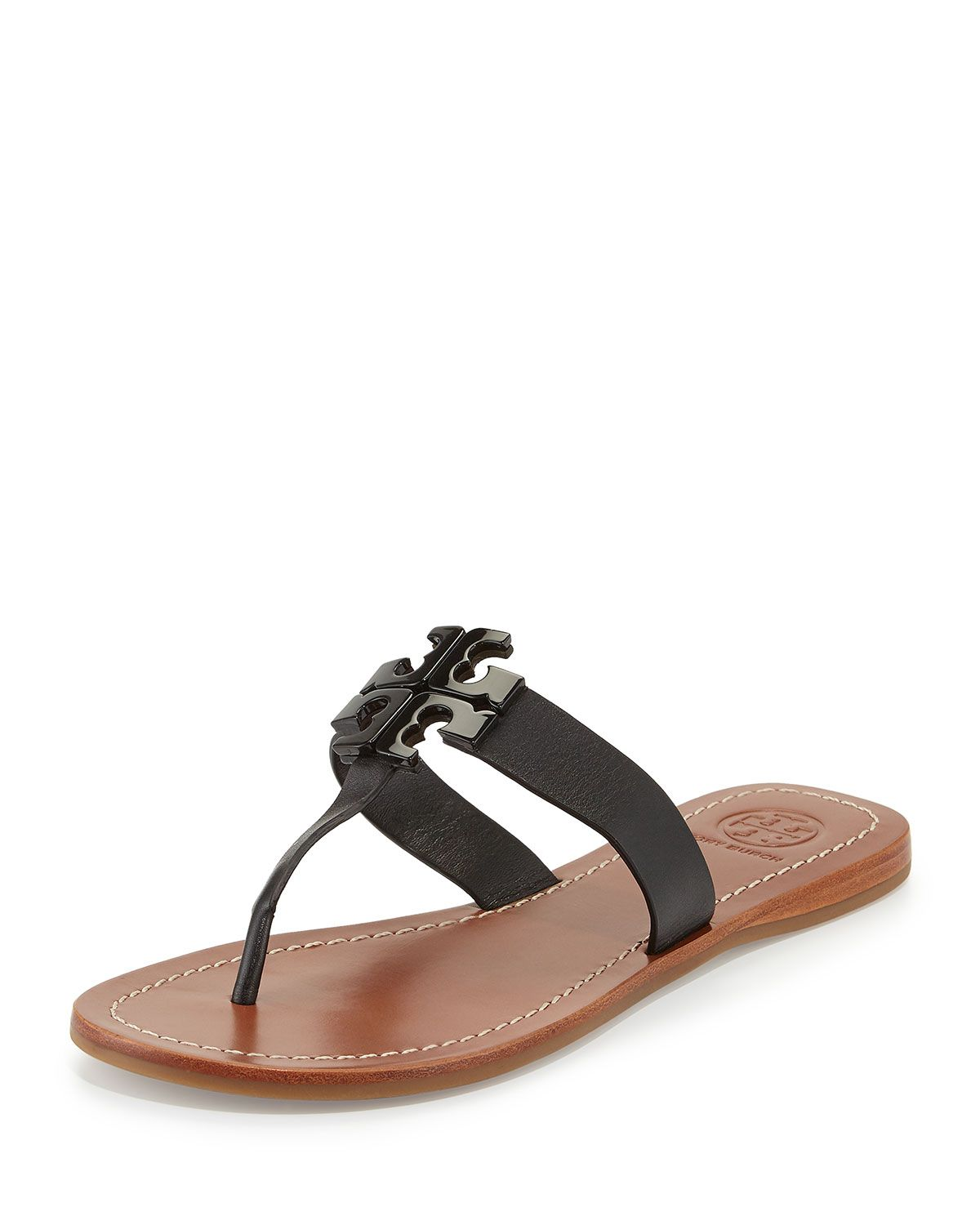 11a34f8c6 Tory Burch Moore 2 Leather Thong Sandal