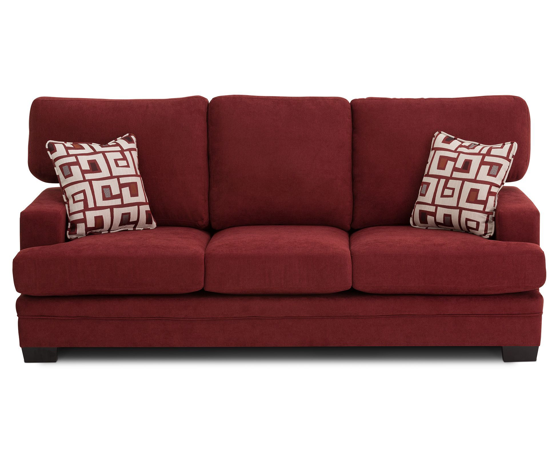 Current In Currant Red The Oversized Astoria Sofa Has Urban