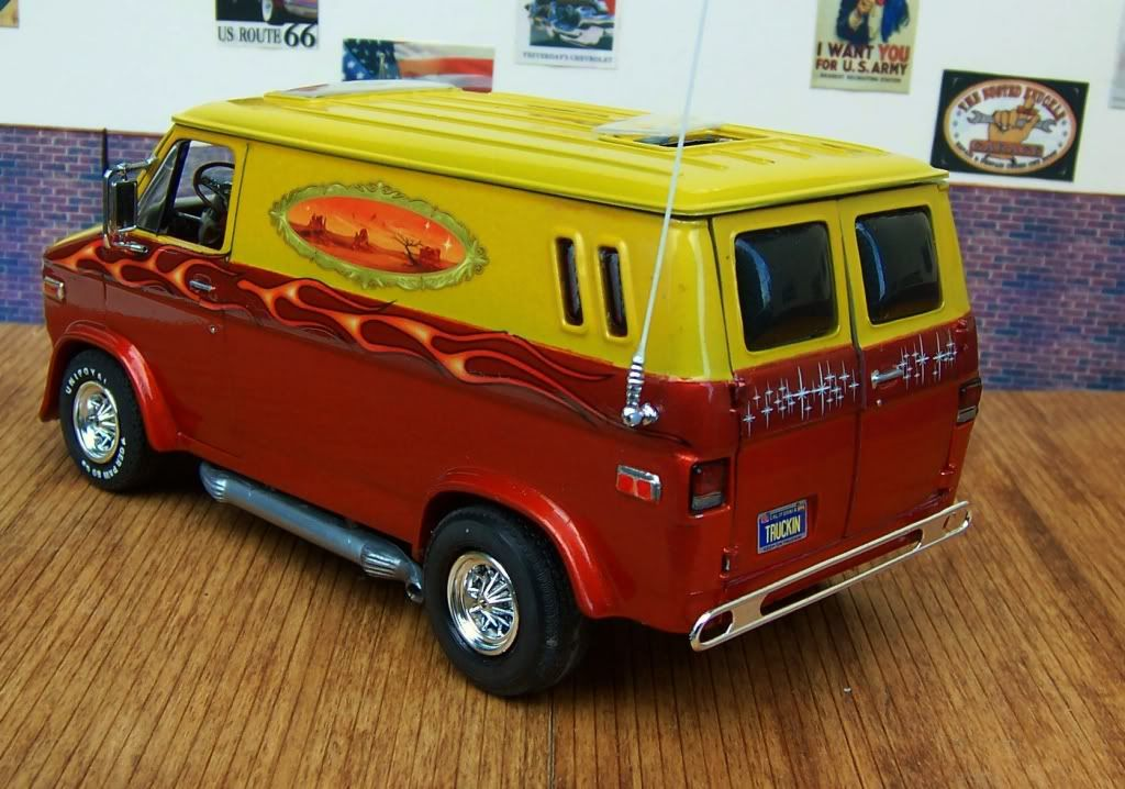 Chevy Custom Van Plastic Model Cars Model Cars Kits Custom Vans