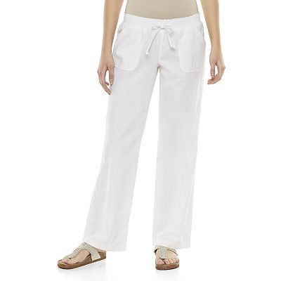 SO® Linen-Blend Beach Pants - Juniors | kohls clothes! | Pinterest ...