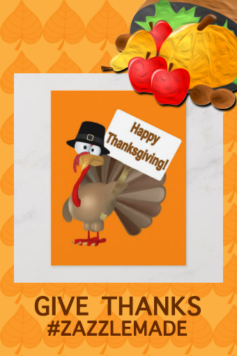 Funny Turkey saying Happy Thanksgiving Holiday Postcard  Invite everyone to Thanksgiving