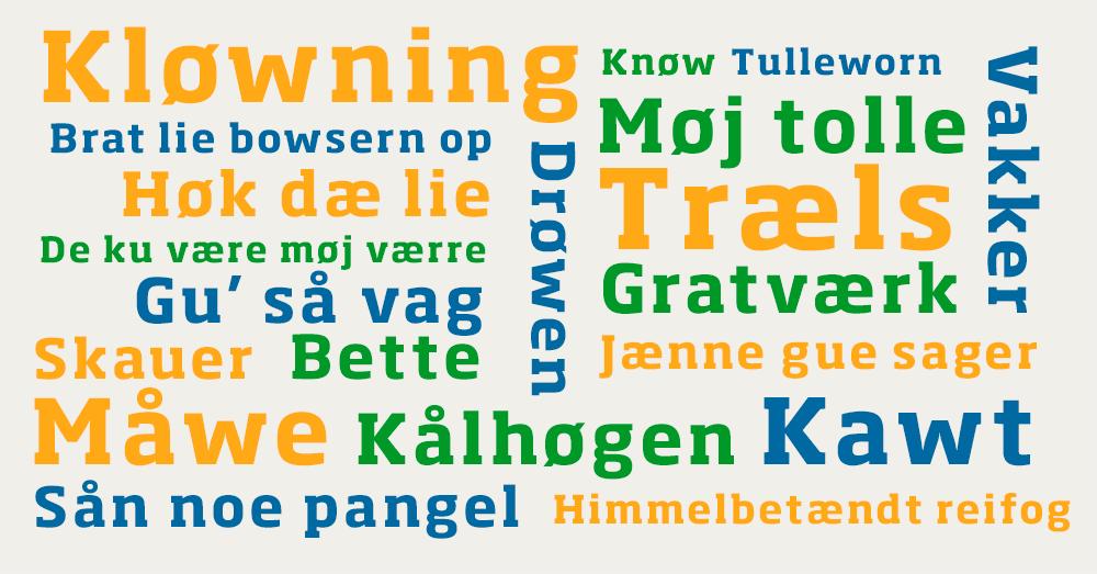 dialekt plakat nordjylland