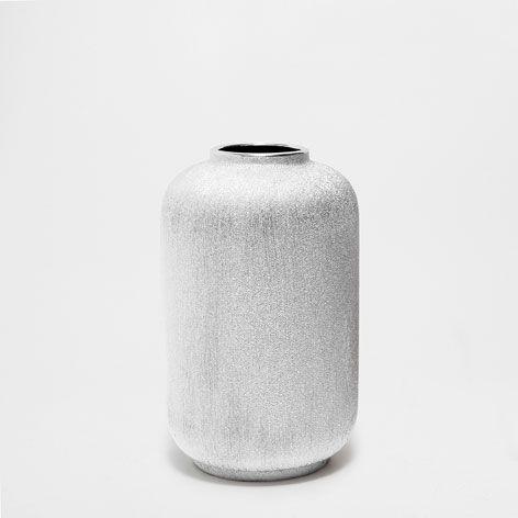 22.99 U20ac CERAMIC STRIPED VASE   Vases   Decoration | Zara Home Germany