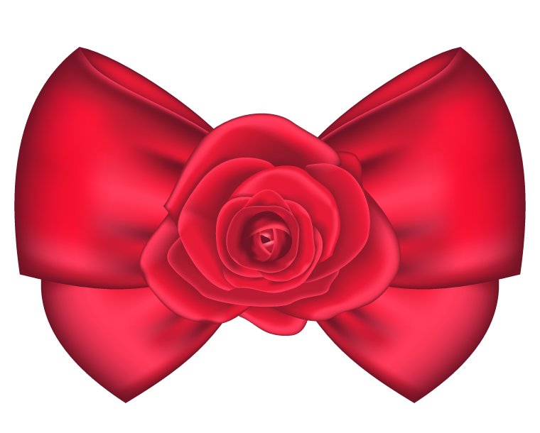 decorative bow with rose png clipart picture clipart pinterest rh pinterest co uk christmas bows clip art bows clipart