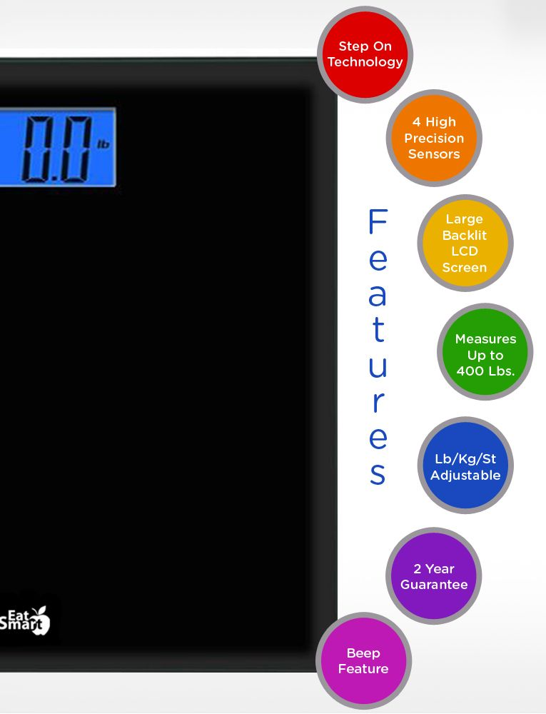 The Precision Choice Digital Bathroom Scale Is Ready To Go When You Are Weigh