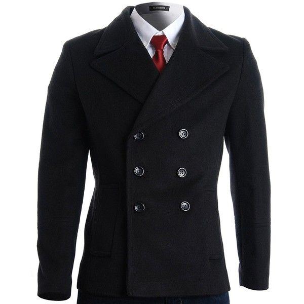 Pin On Men S Clothes, Fashion Brand Pea Coat