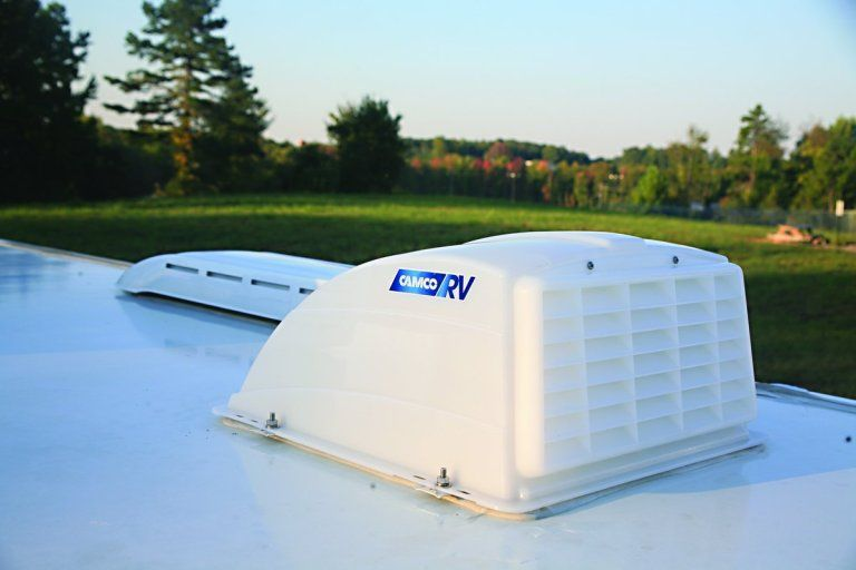 Top RV Shower & Bathroom Upgrades | Roof vent covers, Roof ...