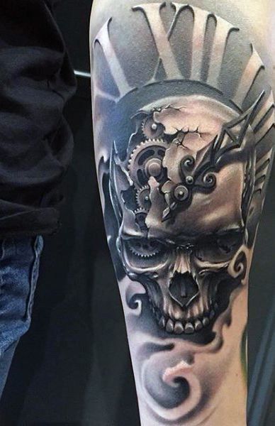 80 Clock Tattoo Designs For Men Timeless Ink Ideas Tattoos