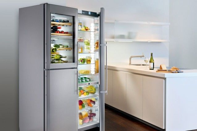 Liebherr SBSes 7165 Side By Side Refrigerator   German Made And Engineered    Encompasses An Automatic · Domestic AppliancesKitchen ...
