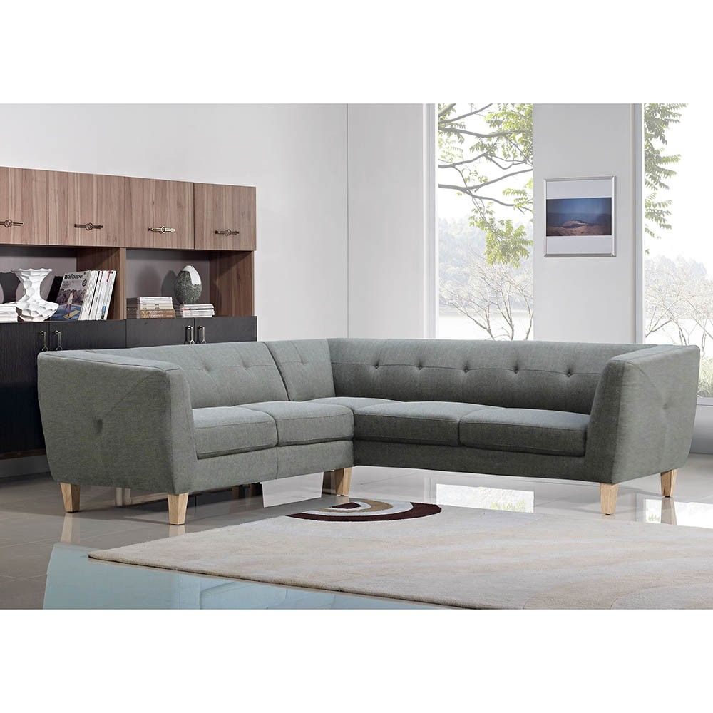 winstead corner sofa - grey | $1,919.00 - milan direct | house