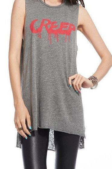 CREEP Tank Top #NYLONshop http://shop.nylon.com/collections/whats-new/products/creep-tank-top