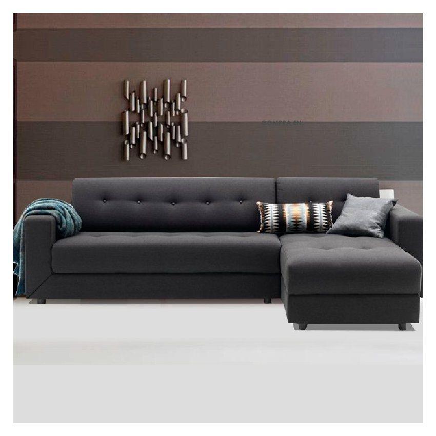 Compra Mueble De Sala Seccional Dinamarca Color Gris online ...