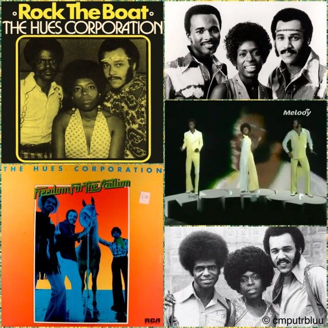 July 6 1974 The Hues Corporation Went To No1 On The Us Singles