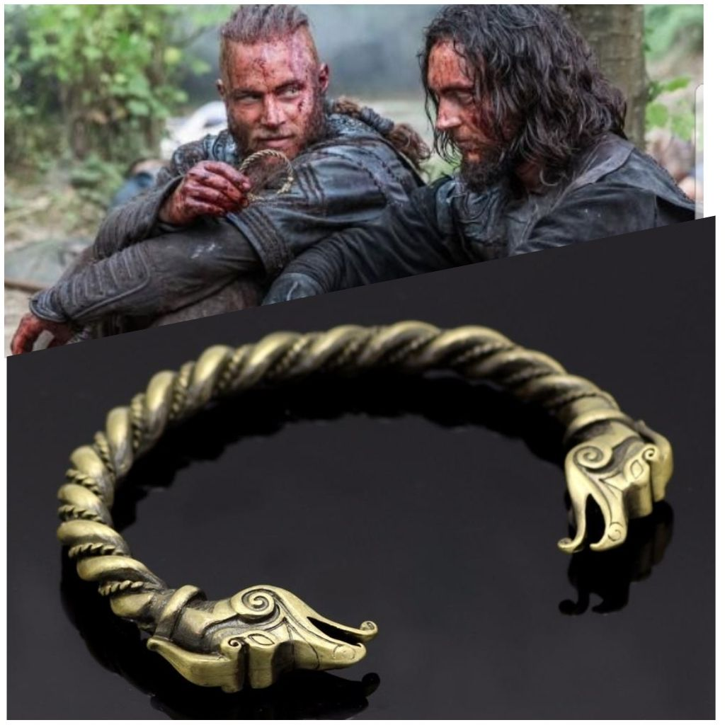 6e567055e4312 Ragnar Lothbrok Viking Armring Replica in 2019 | Norse viking ...