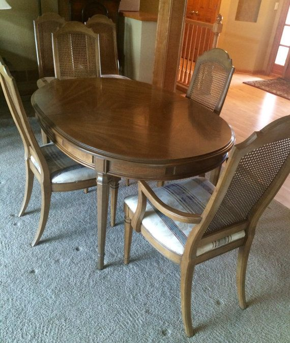 MOVING MUST SELL Esperanto Drexel Dining Room Set 1960s 6 chairs