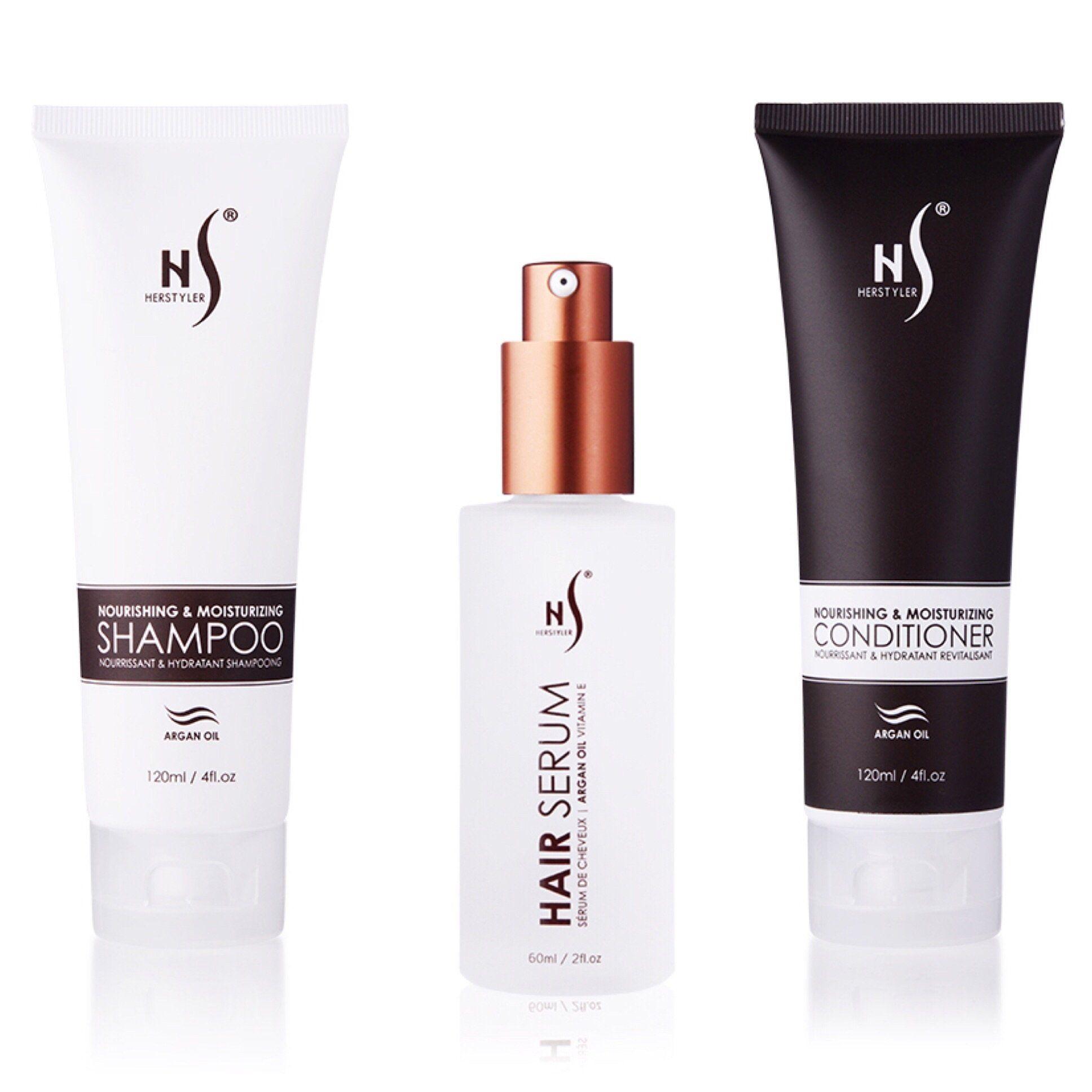 3pc Hair Care Set Hair serum, Hair care, Moisturizing