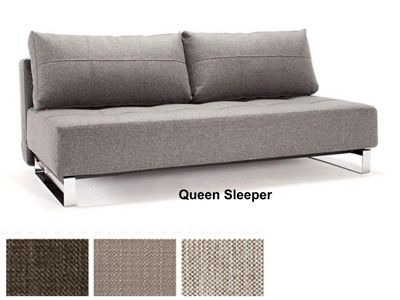 Supremax Deluxe Excess Lounger Queen Size Convertible Sofa Bed By ...