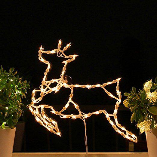 Fenster Silhouette Weihnachten 45cm Weihnachtsdeko Fensterbilder