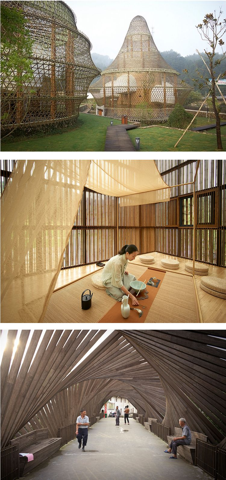 First Bamboo Biennale Creates Cutting-Edge Structures in Small ... on chinese school house, chinese christmas house, chinese villages in china, chinese traditions, olden day chinese house, chinese wood house, chinese land, chinese urban house, chinese beach house, chinese forest house, chinese food house, chinese art house, chinese house plans, chinese people house, chinese dome house, chinese light house, old chinese house, chinese drawings of people,