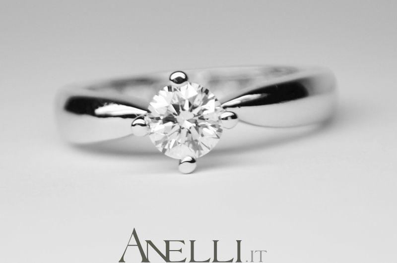 Anello Con Diamante Di 0 45 Carati Colore D Bianco Eccezionale Superiore Purezza Vs1 2199 Tutto Incluso Http Www An Anelli Con Diamanti Gioielli Anelli