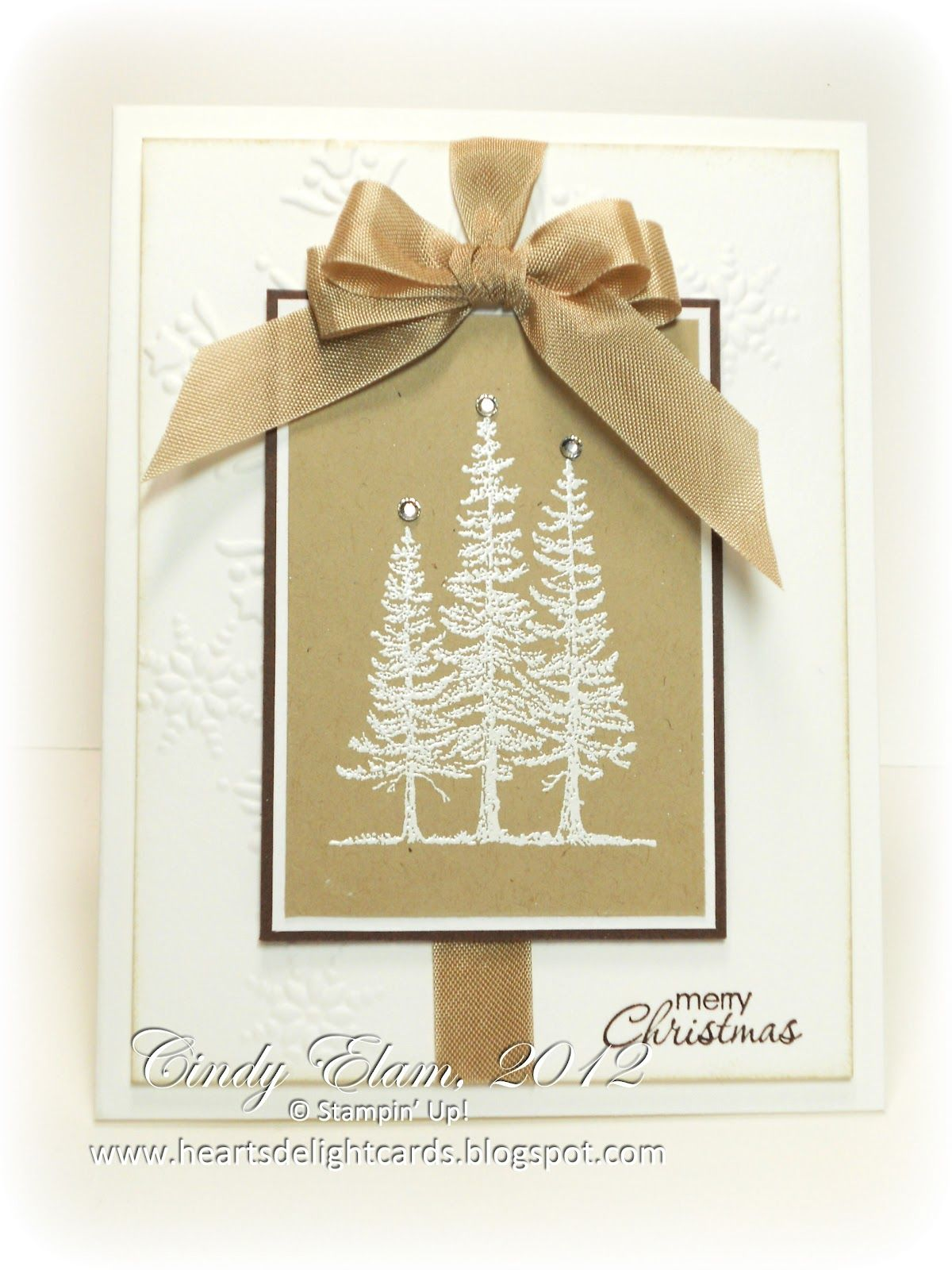 Hearts delight cards su lovely as a tree in tan and brown hearts delight cards su lovely as a tree in tan and kristyandbryce Gallery