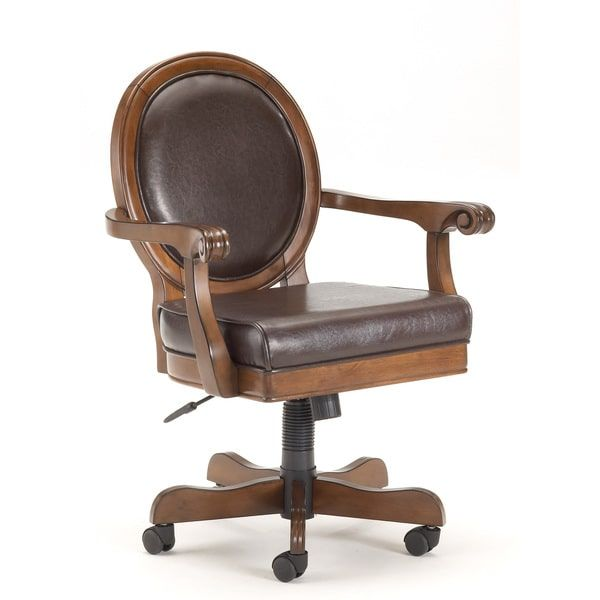 Hillsdale Warrington Caster Game Chair | Overstock.com Shopping   The Best  Deals On Casino