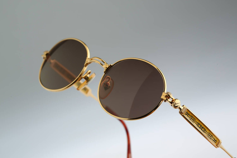 56fe98f33f60a Jean Paul Gaultier 56-4170   Rare designer eyewear  NOS   90s Vintage  sunglasses by CarettaVintage on Etsy