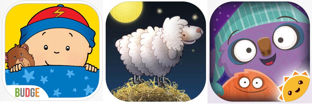 applications pour faciliter l'heure du dodo, solution au dodo, heure du coucher, thématique dodo, repos, application, applications