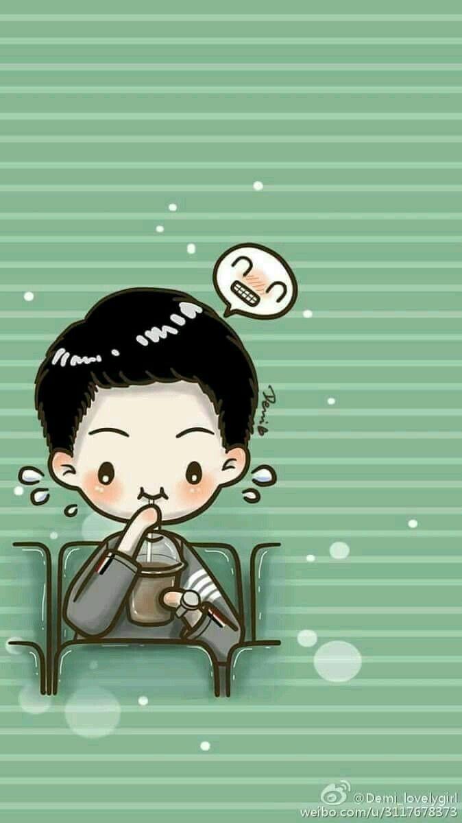 Song Jong Kie Watching Movie