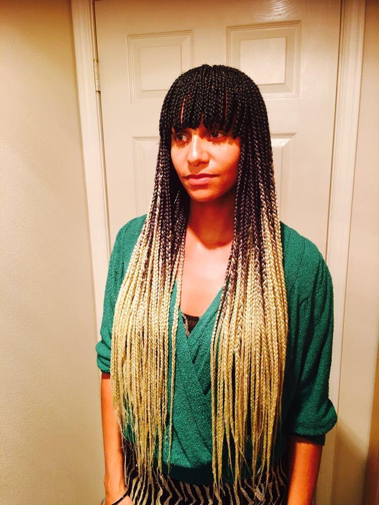 Braids with bangs #braidswithbangs | African Braids ...