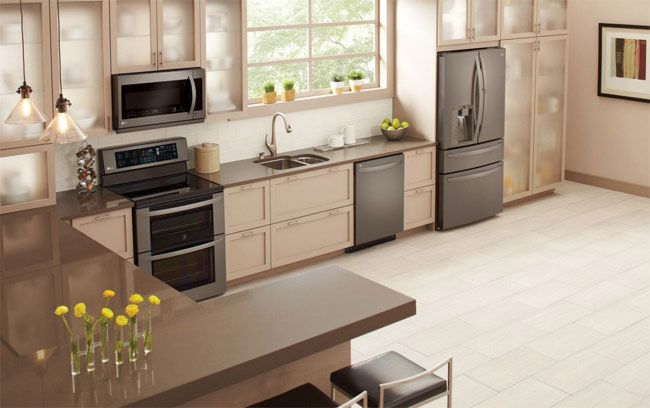 Lg Debuts Black Stainless Steel Kitchen Appliances Baby Gizmo Lglimitlessdesign Contest