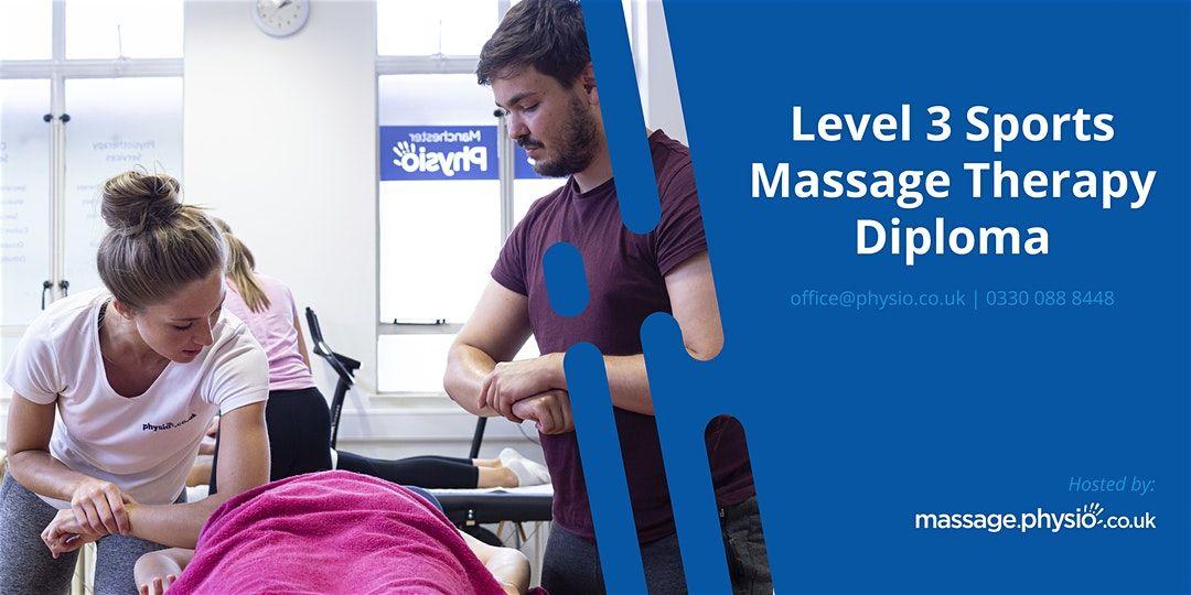 Eventbrite Massage.physio.co.uk presents Level 3 Sports