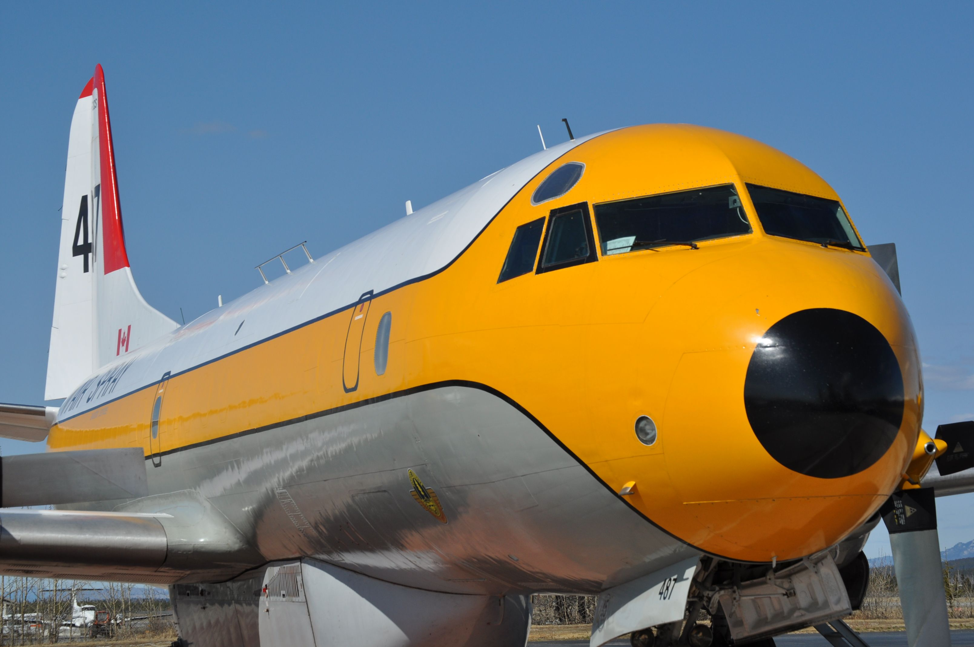 The Lockheed L188 Electra Air Tanker Aviao
