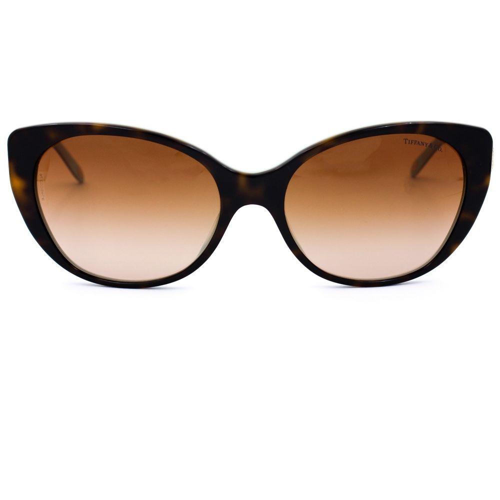 1ff55f5de70 Key Cat Eye Sunglasses with Brown Gradient Lenses TF 4099-H  TiffanyCo   CatEye