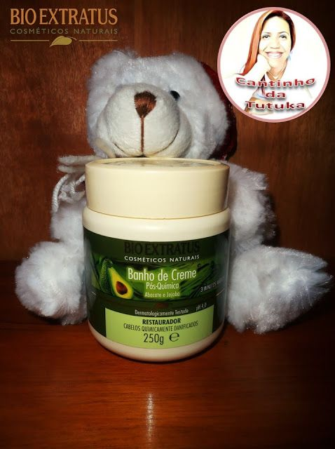 Resenha Mascara Banho De Creme Pos Quimica Restaurador By Bio