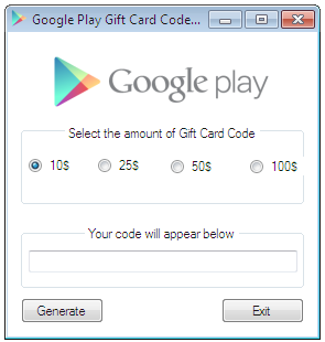Google play gift card generator apk | Free Stuff | Gift card