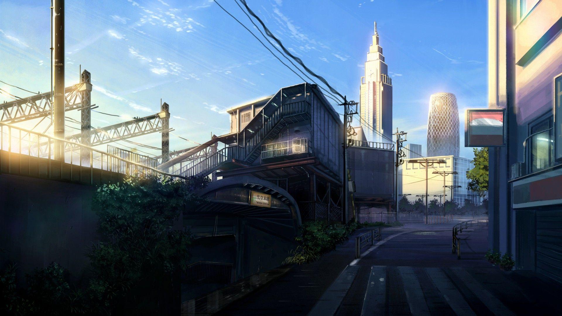 Anime City Scenery Anime Scenery