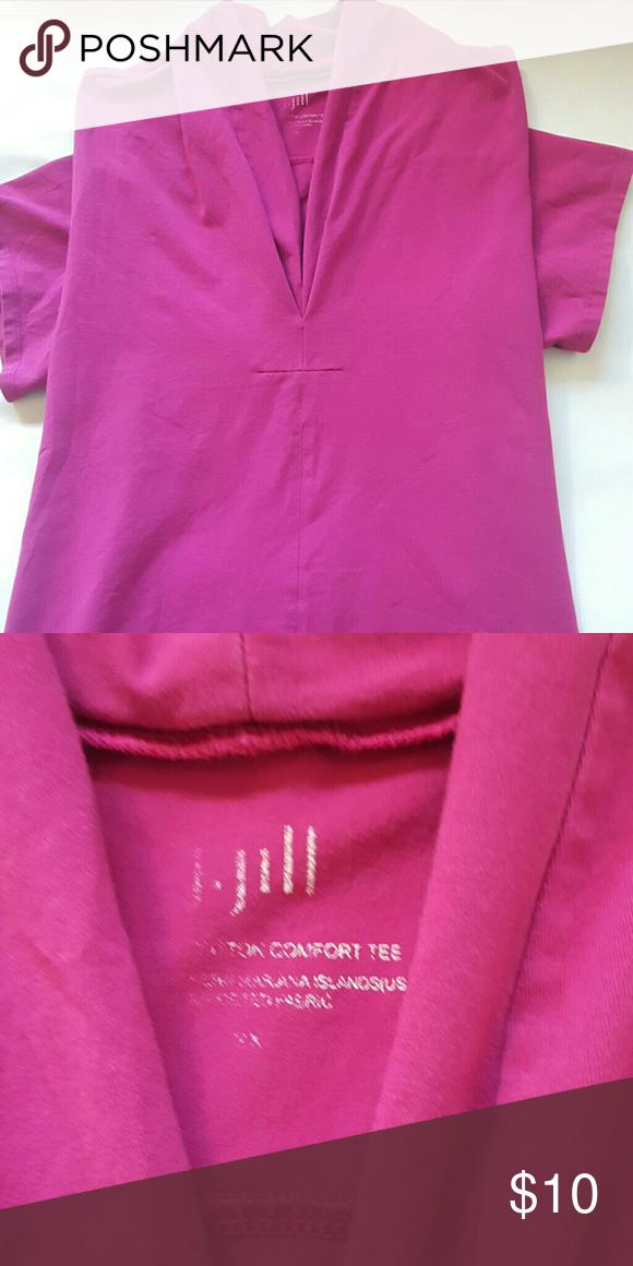 XXL. J.Jill. shirt Short sleeves  short.  XXL J.Jill Tops Crop Tops