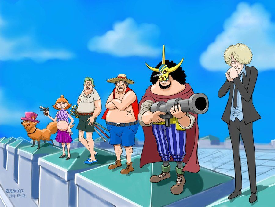 Fake Straw Hats Enies Lobby One Piece Funny One Piece Ace Strawhats Crew