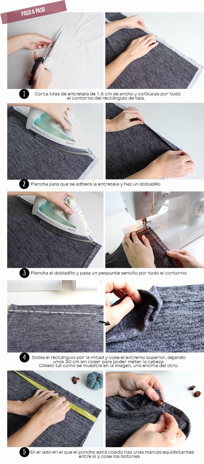 paso-a-paso-hacer-poncho-facil-diy | ropa