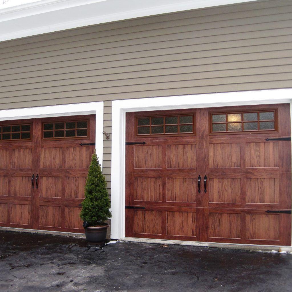 Vinyl Garage Doors That Look Like Wood With Regard To Encourage