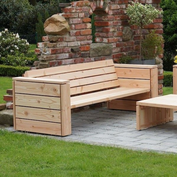 Holz Lounge Selber Bauen  Lounge Sofa Selber Bauen Loungesofa Garten Loungem Bel Heimisches
