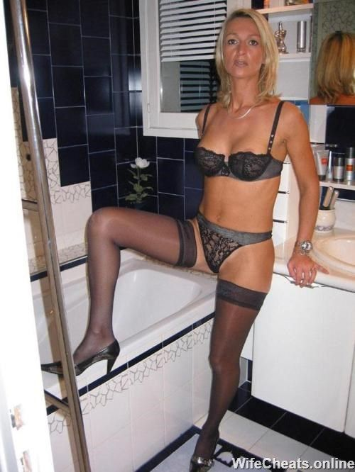Real amateur mature wife