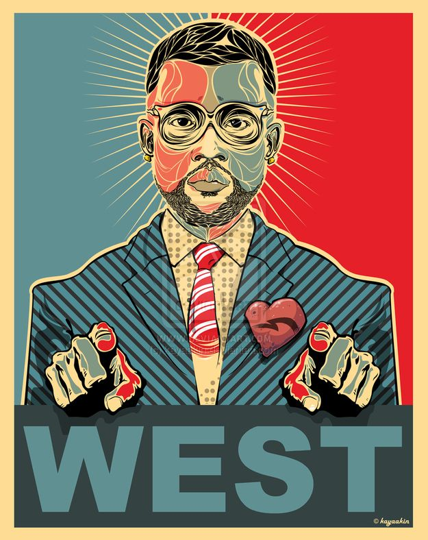 The 50 Coolest Pieces Of Art Inspired By Kanye West ...