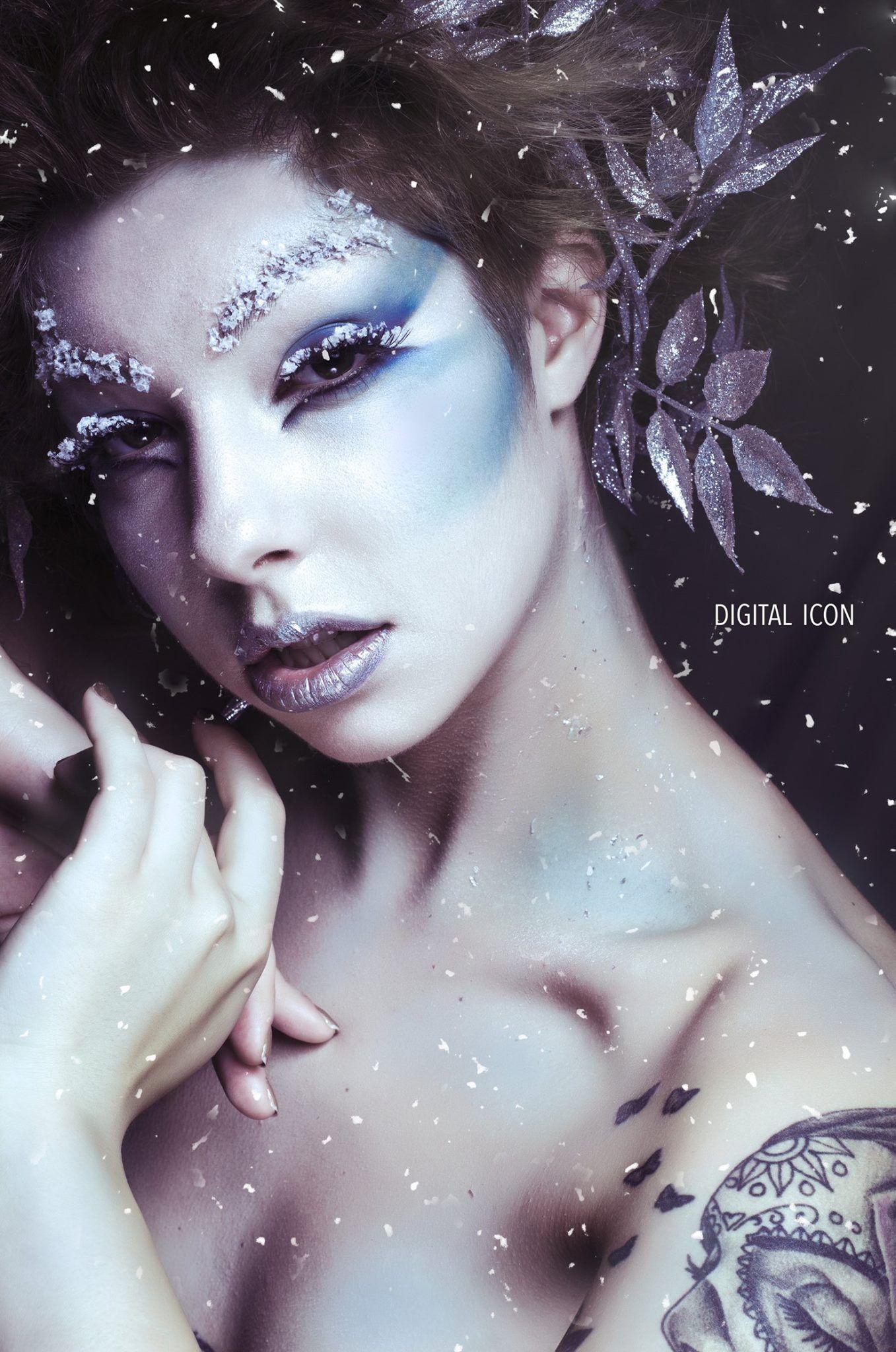 Veronica Fensel Makeup Artistry Digital Icon Photography model Jessie Hunter